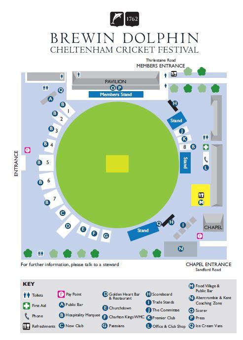 Cheltenham Map 2016
