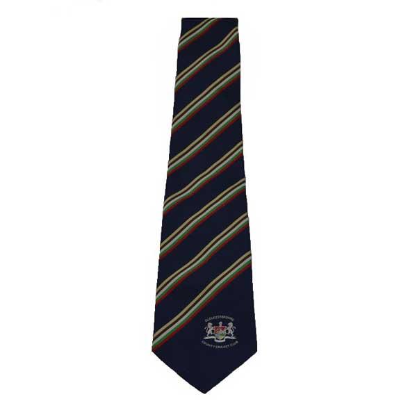 club tie gloucestershire cricket