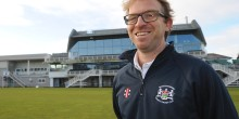 New Gloucestershire CCC Head Coach Richard Dawson at the County Ground today , Bristol 30/1/15Pic by Martin Bennett