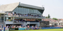 Bristol Pavilion Opening at Gloucestershire CCC 24-8-13Pic by Martin Bennett