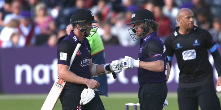 Gloucestershire CCC v Sussex Sharks T20 Blast26/6/15 from the County Ground , Bristol  Pic by Martin Bennett
