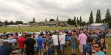 Gloucestershire v Kent 12/7/15 from the College Ground, Cheltenham Pic by Martin Bennett