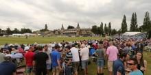 Gloucestershire v Kent 12/7/15 from the College Ground, Cheltenham Pic by Martin Bennett