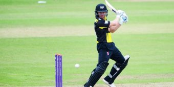 TAUNTON, UNITED KINGDOM - JUNE 05: Hamish Marshall of Gloucestershire bats during the Royal London One Day Cup match between Somerset and Gloucestershire at The County Ground on June 5, 2016 in Taunton, England. (Photo by Harry Trump/Getty Images)