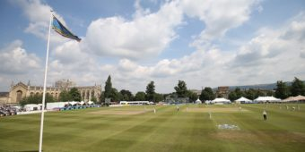 Gloucestershire CC v Leicestershire  CC2 at Cheltenham College 20/7/16 Pic by Martin Bennett