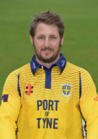 CHESTER-LE-STREET, ENGLAND - APRIL 8 : Phil Mustard of Durham poses for a photograph in the One Day kit during the Durham County Cricket Club photocall at the Riverside on April 8, 2016 in Chester-Le-Street, England. (Photo by Mark Runnacles/Getty Images) *** Local caption *** Phil Mustard
