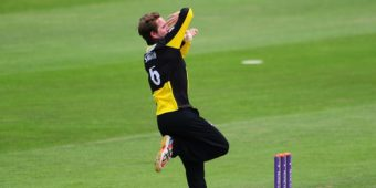 CARDIFF, UNITED KINGDOM - JUNE 06: Tom Smith of Gloucestershire during the Royal London One Day Cup match between Glamorgan and Gloucestershire at the SWALEC Stadium on June 6, 2016 in Cardiff, Wales. (Photo by Harry Trump/Getty Images)