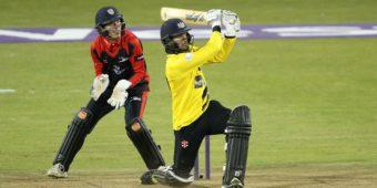 Gloucestershire v Durham Quarter Final Natwest T20 Blast from Brightside Ground Bristol 10-8-16 Pic by Martin Bennett