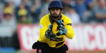 BRISTOL, UNITED KINGDOM - JULY 29: Philip Mustard of Gloucestershire during the Natwest T20 Blast match between Gloucestershire and Middlesex at The Brightside Ground on July 29, 2016 in Bristol, England. (Photo by Harry Trump/Getty Images)