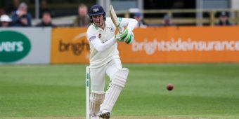 Gloucestershire CCC v Leicestershire CCC 14-4-17 from The Brightside Ground   Photo Credit-  Martin Bennett