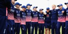 during the ICC Women's World Cup 2017 match between England and Pakistan at Grace Road on June 27, 2017 in Leicester, England.