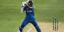 DUNEDIN, NEW ZEALAND - FEBRUARY 22:  Thisara Perera of Sri Lanka bats during the 2015 ICC Cricket World Cup match between Sri Lanka and Afghanistan at University Oval on February 22, 2015 in Dunedin, New Zealand.  (Photo by Martin Hunter/Getty Images)