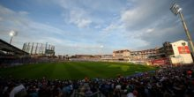 during the NatWest T20 Blast match between Surrey and Essex Eagles at The Kia Oval on July 19, 2017 in London, England.