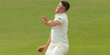 CHELMSFORD, ENGLAND - APRIL 11:  Josh Shaw of Gloucestershire in action bowling during day two of the Specsavers County Championship match between Essex and Gloucestershire at the Ford County Ground on April 11, 2016 in Chelmsford, England. (Photo by Stephen Pond/Getty Images)