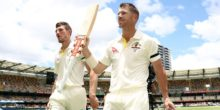 during day five of the First Test Match of the 2017/18 Ashes Series between Australia and England at The Gabba on November 27, 2017 in Brisbane, Australia.