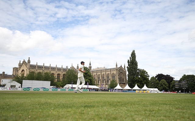 Gloucestershire CCC v Glamorgan CCC CC2 Day 1 Cheltenham Festival 3-7-17 Pic by Martin Bennett